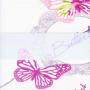 Выберите Цвет ткани Зебра: розовый бабочки