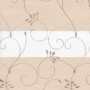 Выберите Цвет ткани Зебра ВАЛЕНСИЯ: светло-бежевый