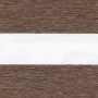 Выберите Цвет ткани Зебра ЛОФТ: коричневый